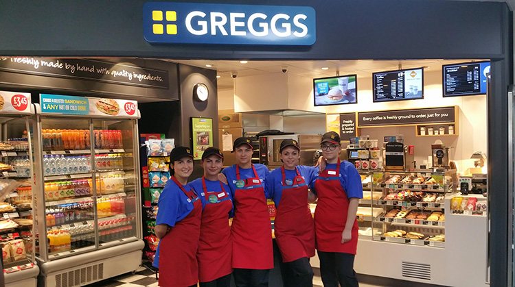 EG Opens 114th Greggs in Peterborough