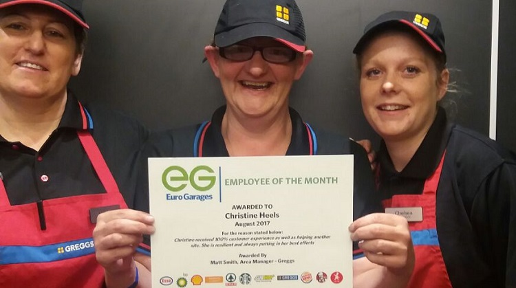 August's Employees of the Month