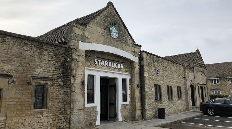 Burford Starbucks Success in Listed Building