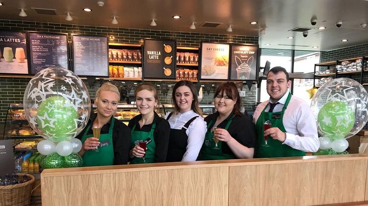 Scot Lane Starbucks Grand Re-Opening