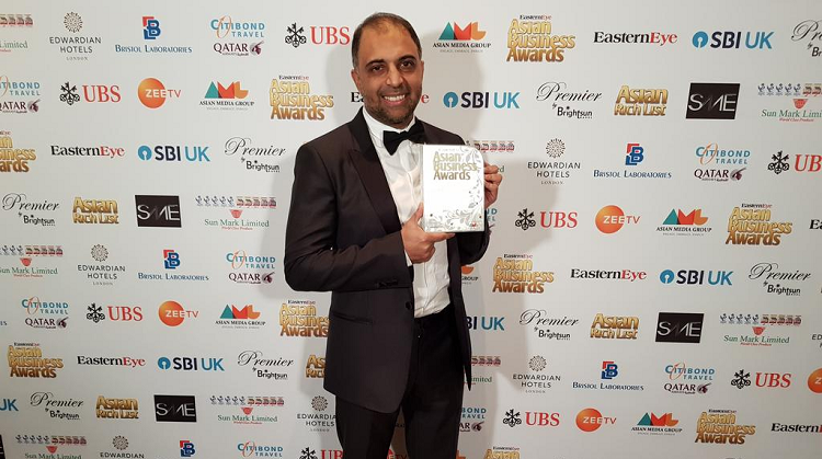 EG wins Asian Business of the Year 2018