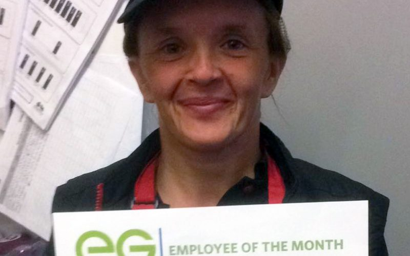 April's Employees of the Month