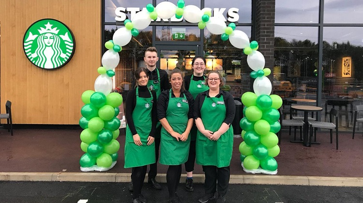 110th Starbucks opens at Frontier Park