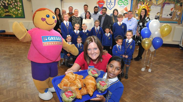 EG to sponsor breakfast club