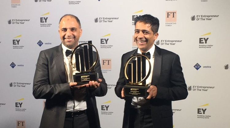 EG Group founders win Entrepreneur Award