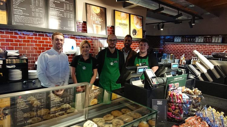 Budbrooke North Starbucks Opens Today