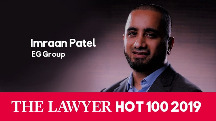 Imraan Patel named in The Lawyer Hot 100