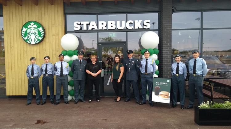 EG OPENS 112TH UK STARBUCKS STORE